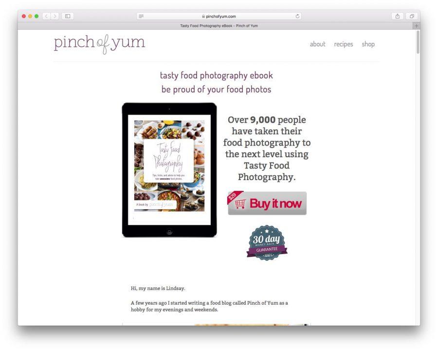 Pinch of Yum eBook