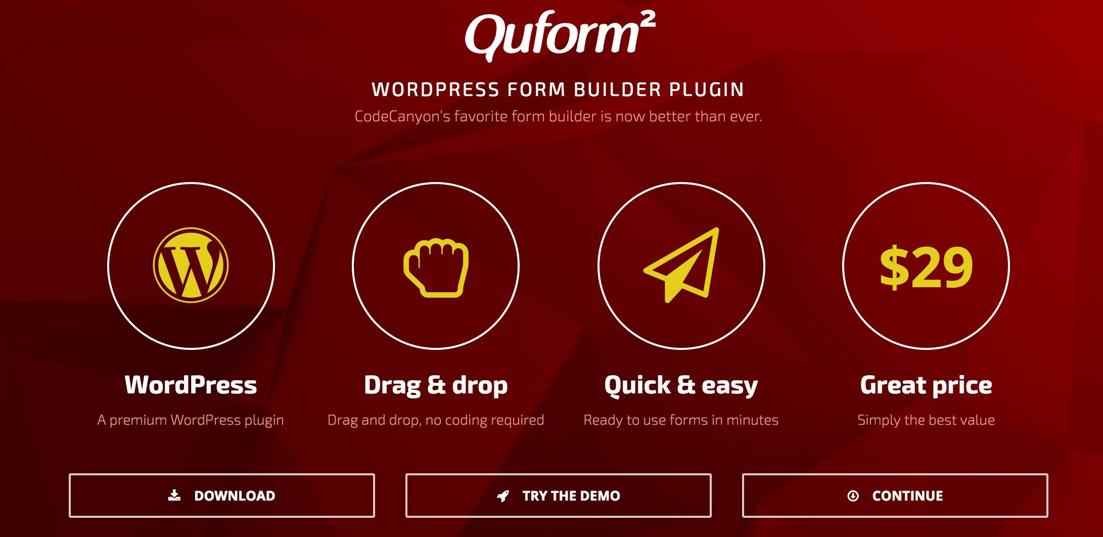 Quform WordPress Contact Form Plugin