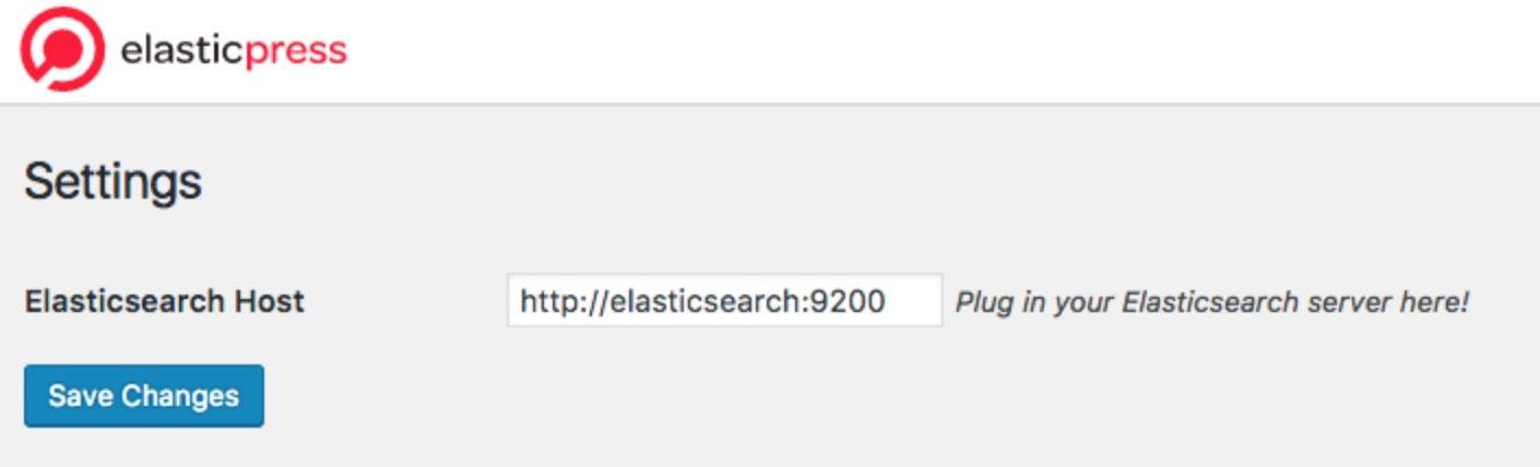 Select ElasticSearch Host