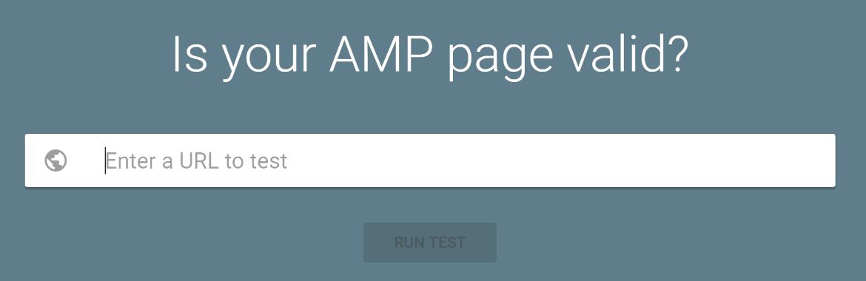 The Google AMP validation tool.