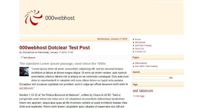 dotclear cms