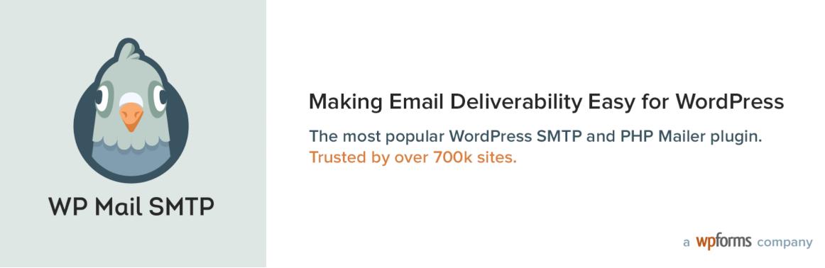 The WP Mail SMTP plugin.