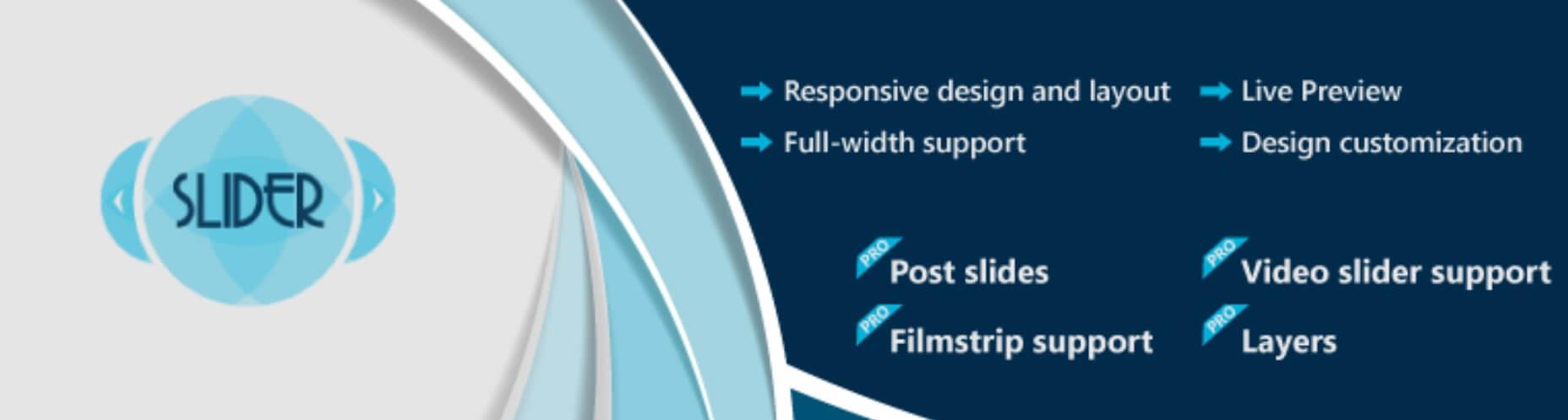 The Slider by WD WordPress parallax plugin.