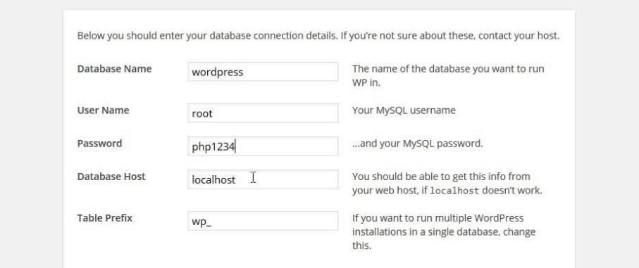 Changing WordPress' database prefix.