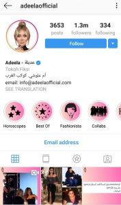 adeela social media influencer