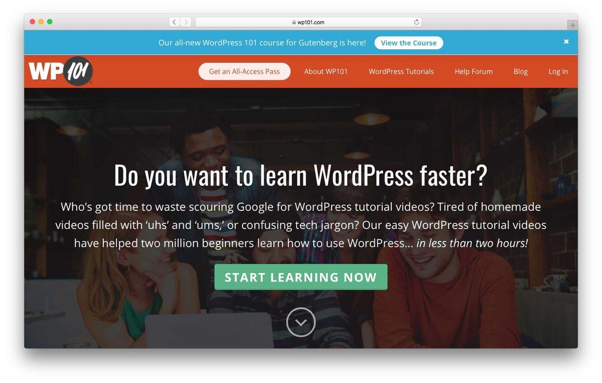 Learn WordPress from WP101
