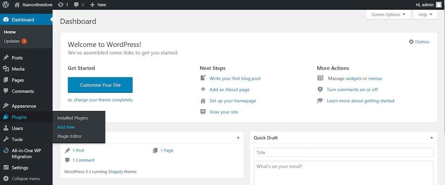Adding New Plugins in WordPress