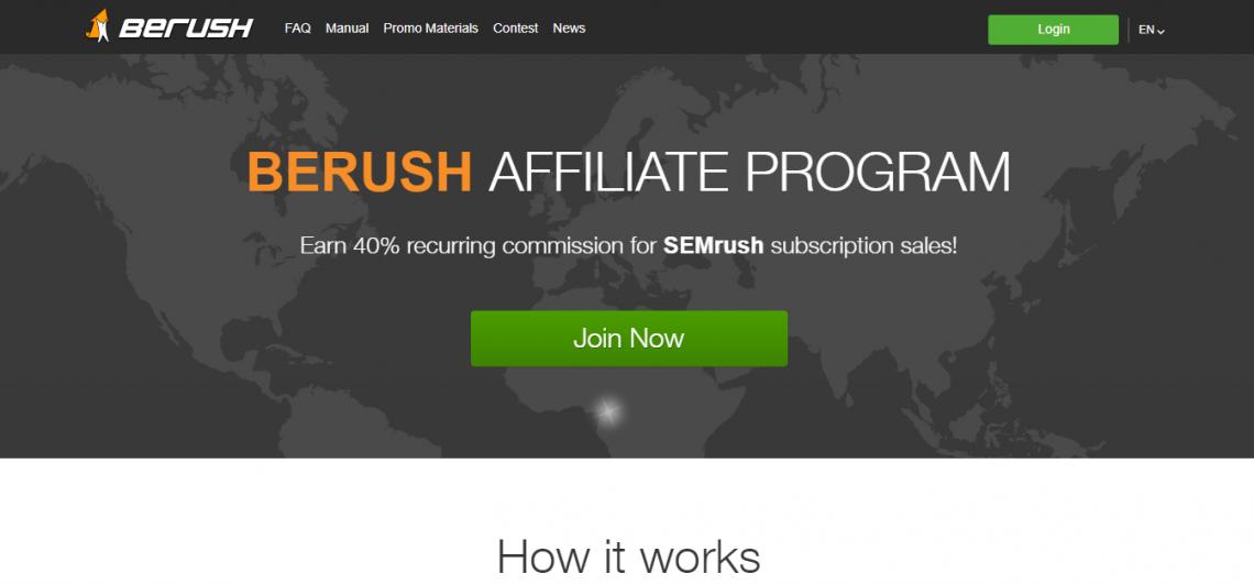 berush affiliate marketing program