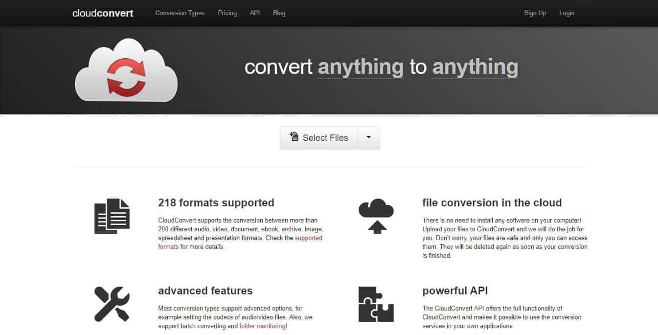 cloudconvert premium online file converter