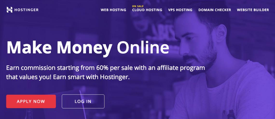 Hostinger Affiliate Marketing Program monetize a blog