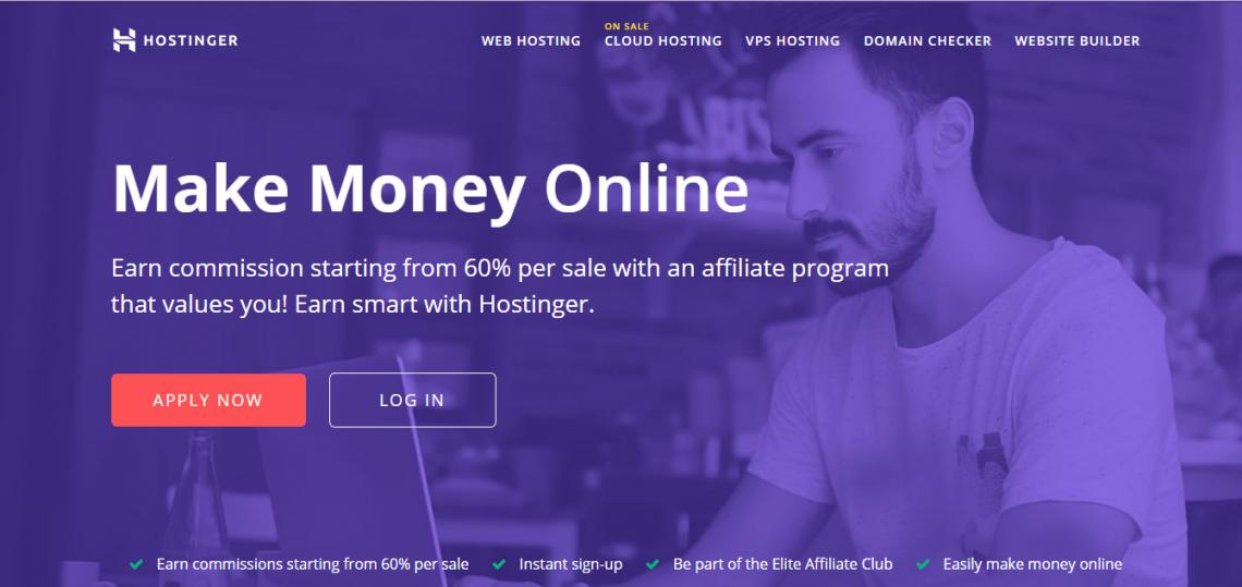 hostinger affiliate program