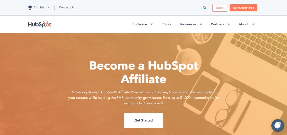 hubspot affiliate marketing program