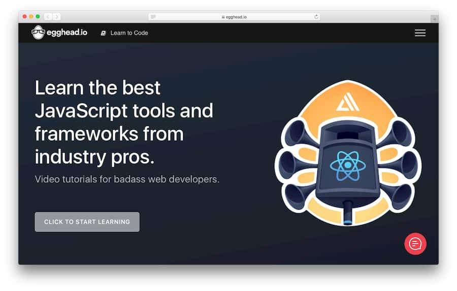 Learn JavaScript with Egghead