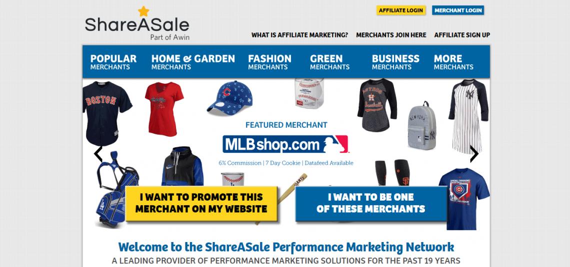 share sale affiliate marketing program