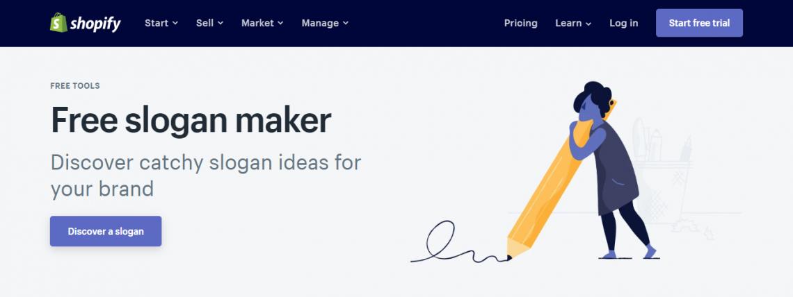 Shopify Slogan Maker