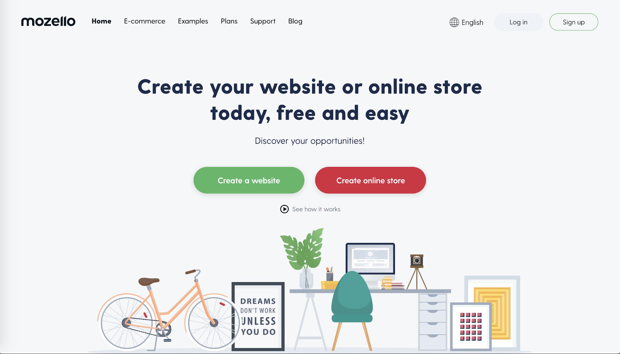 Mozello website